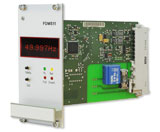Frequency Deviation Monitor for 50/60Hz power line networks